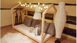Lit cabane Bella 70 x 140cm