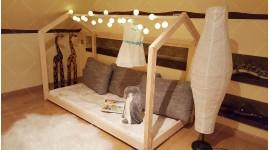 Lit cabane Bella 120 x 200cm