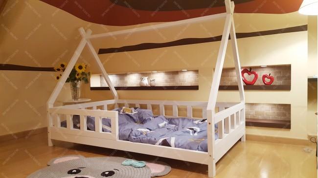 Lit cabane TIPI LILA 60 x 120cm