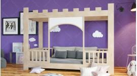 Kinderbett in Form eines Schlosses