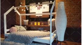 Lit cabane Milos Couleur 90 x 160cm