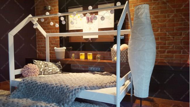 Lit cabane Milos Couleur 90 x 200cm