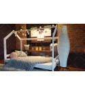 Kinder Bett Hausbett Farbe 90 x 200cm