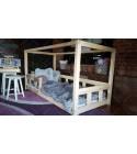 Kinder Bett Hausbett Box Kalia 90 x 200cm