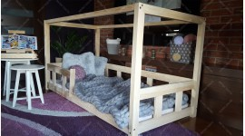 Kinder Bett Hausbett BOX Kalia